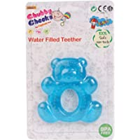 Chubby Cheeks Teddy Bear Shape Colorful Non Toxic Baby teether for New Born 3-12 Months
