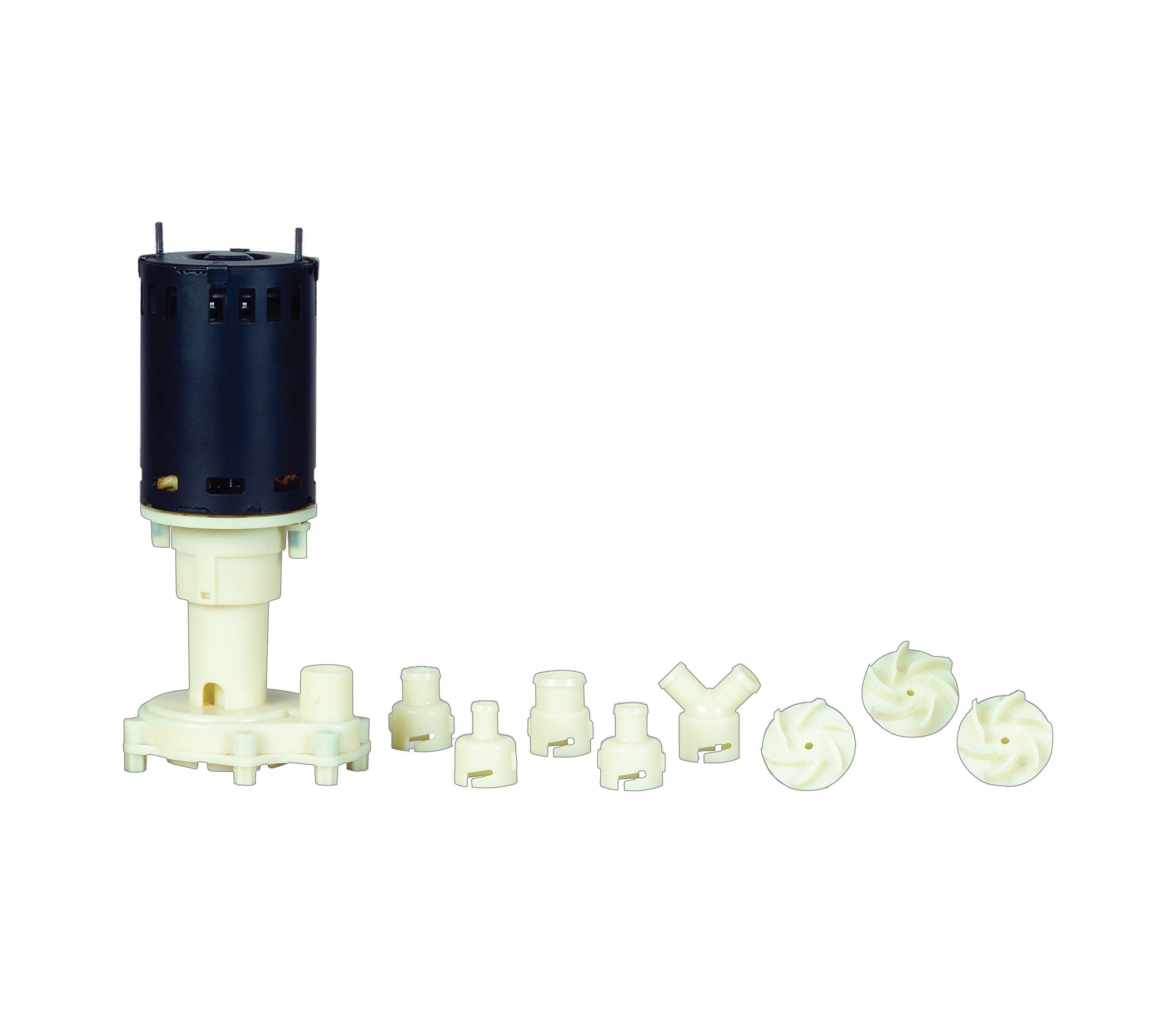 Little Giant 545600 Ice Machine Replacement Pump, 115/230V, 1/25 Hp, 585 GPH