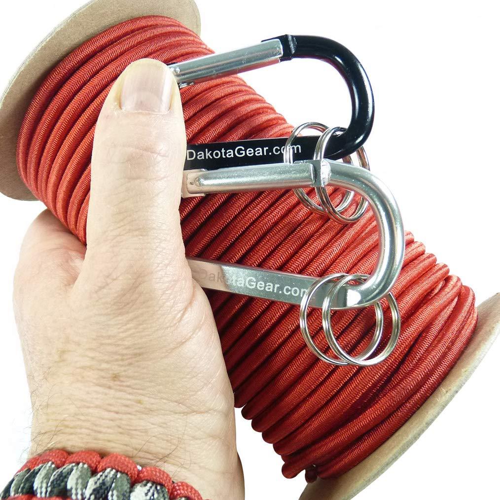 【NEW限定品】 ショックコード 25 マリングレード 米国製カラビナ2つつき付き直径1 inch/8 3/16 1/4インチ 25 inch 50 100フィート 6色。バンジーコード、ストレッチコード、エラスティックコードとも呼ばれます。 B018V82LYK Red Licorice Red 3/16 inch x 25 feet spool 3/16 inch x 25 feet spool|Red Licorice Red, タイヤプライス館:5dc28390 --- a0267596.xsph.ru