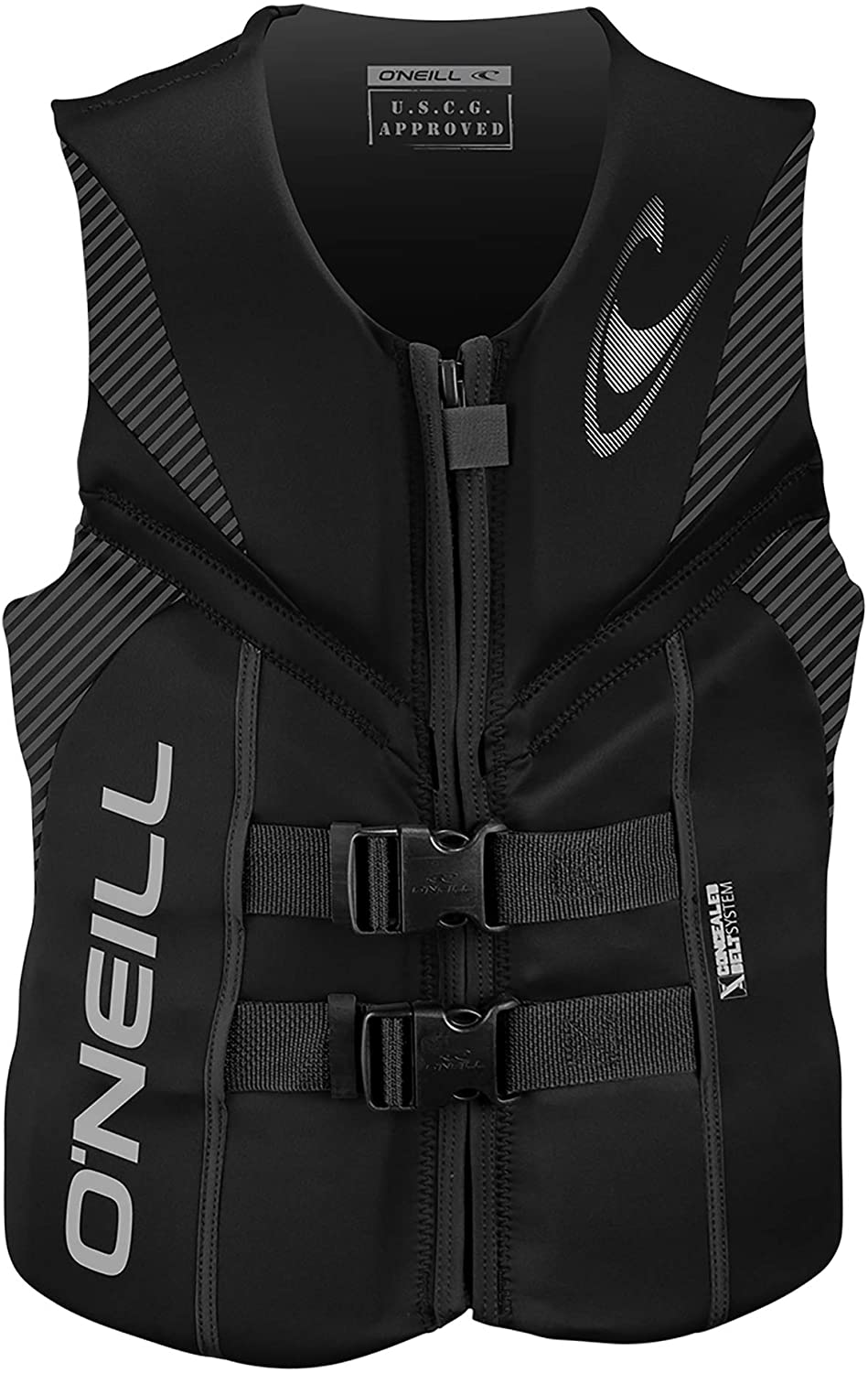 O'Neill Men's Reactor USCG Life Vest: Sports & Outdoors