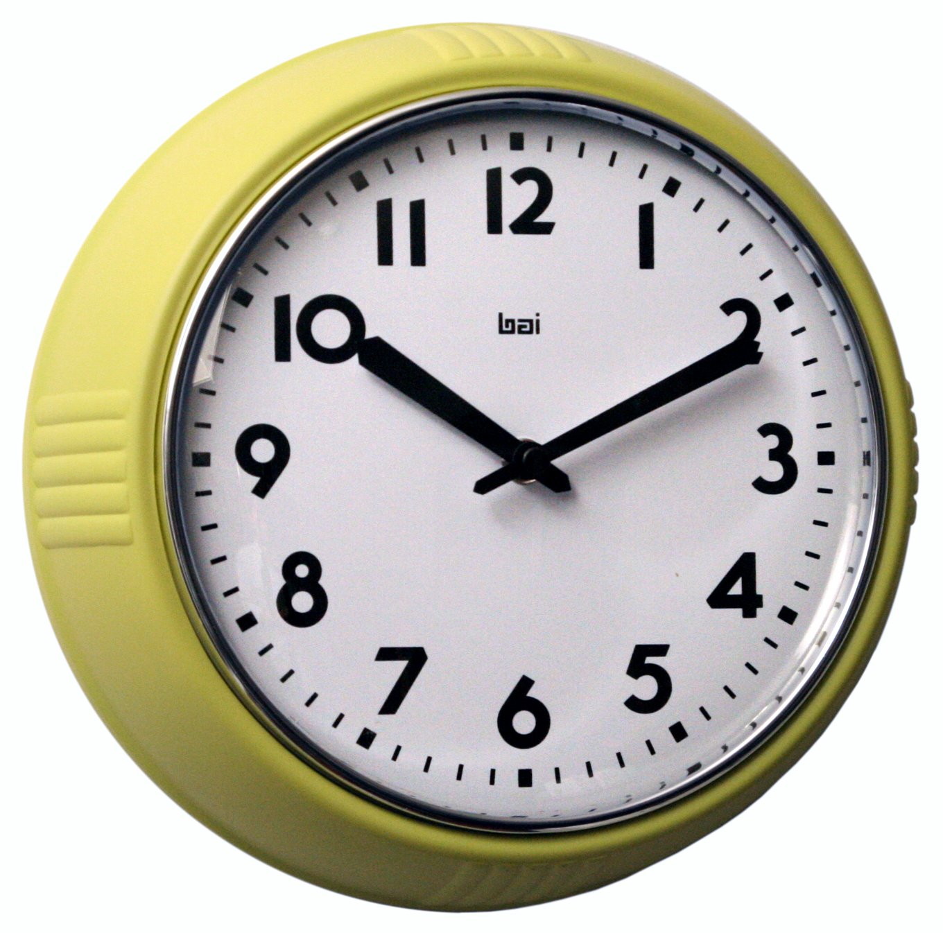 BAI School Wall Clock, Orange Bai Design 740.OR