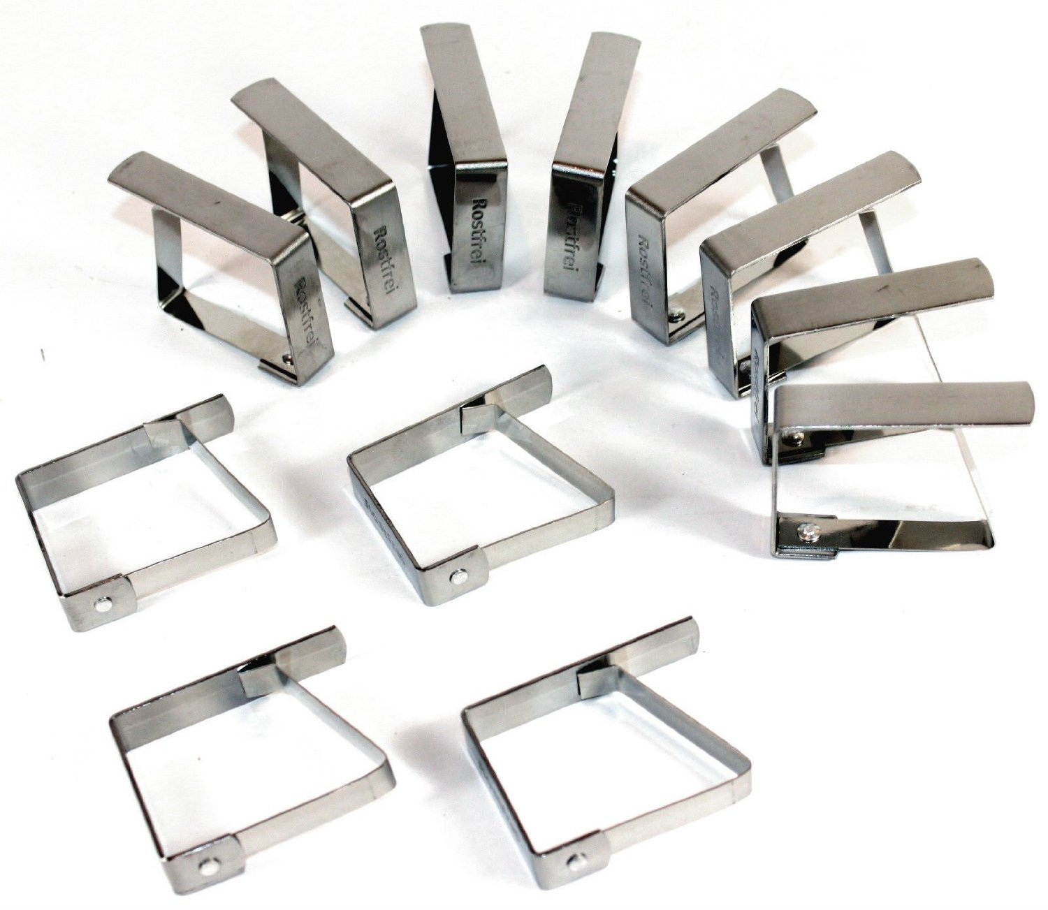 What Is Stainless Steel Made Of >> Haus Garten Table Cloth Clip Tablecloth Clips Stainless Steel
