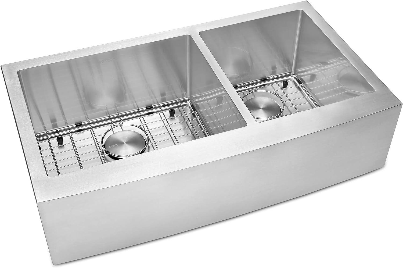 RVH9130 Ruvati 30-inch Farmhouse Apron-Front Kitchen Sink Stainless Steel Single Bowl