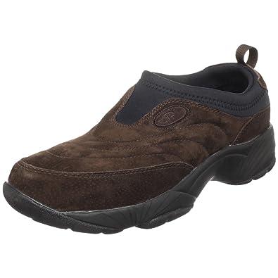 Propet Men's M3850 Washable Moc Walking Shoe,Brownie/Black,7 ...