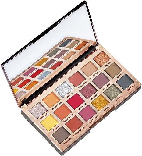 Makeup Revolution Soph X Ultra Eyeshadows Extra Spice Paleta 18 cieni do powiek: Amazon.es: Belleza