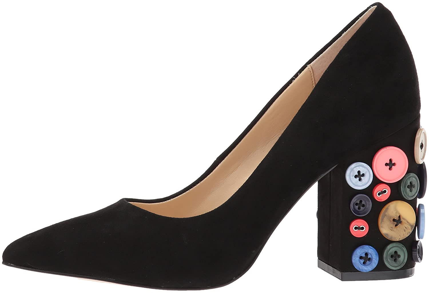 Katy Perry Women's The Anjelica Pump B06XD77TJ3 9.5 B(M) US|Black