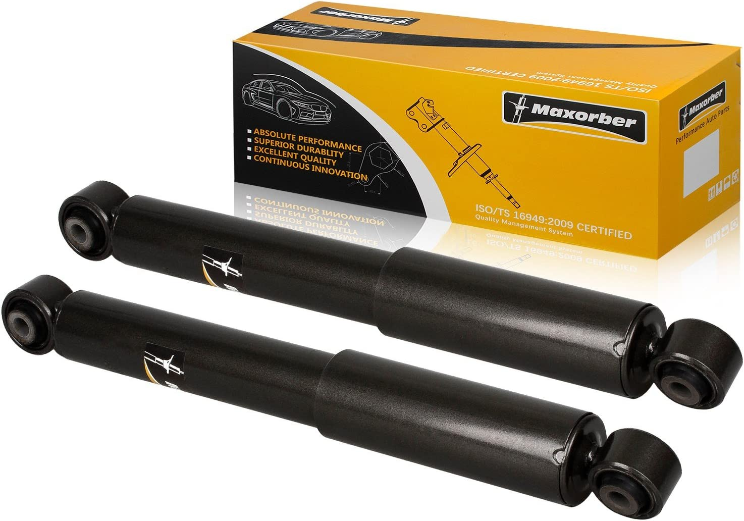 LSAILON 2 pcs Rear Struts Shocks Absorbers Replacement for 2001 ...