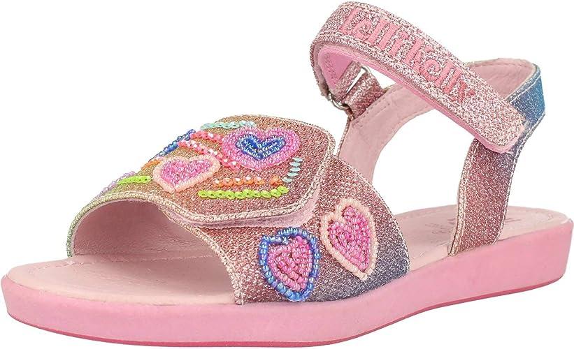 Lelli Kelly Rainbow hearts Sandal Multi