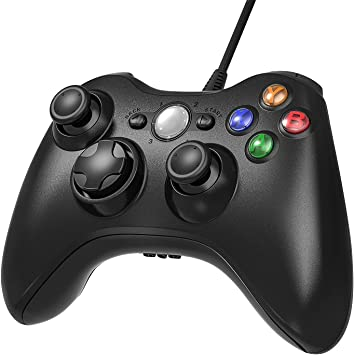Diswoe Xbox 360 Controlador de Gamepad, Controlador de Gamepad ...