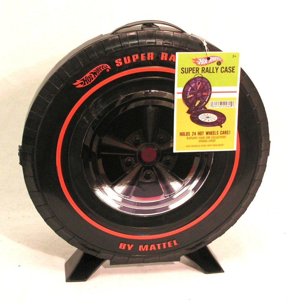 Hot Wheels 24-Car Super Rally Carrying Case Mattel