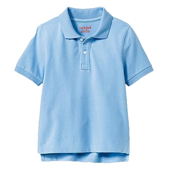 9a34165c Amazon.com: Cat & Jack Big Boys Polo Shirt: Clothing