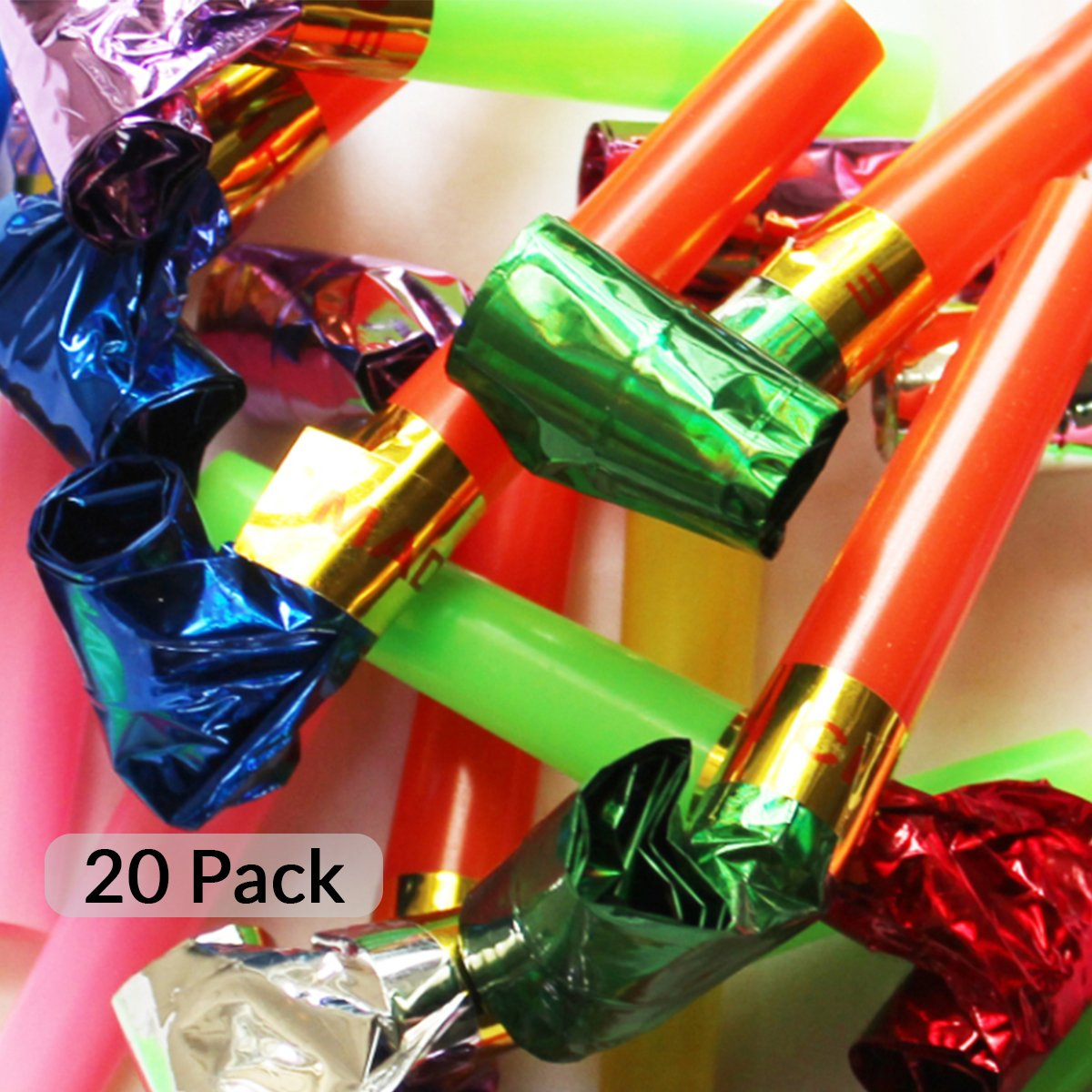 20pcs Christmas Party Blowers - Fun For Every Generation Schöne Memories (UK)