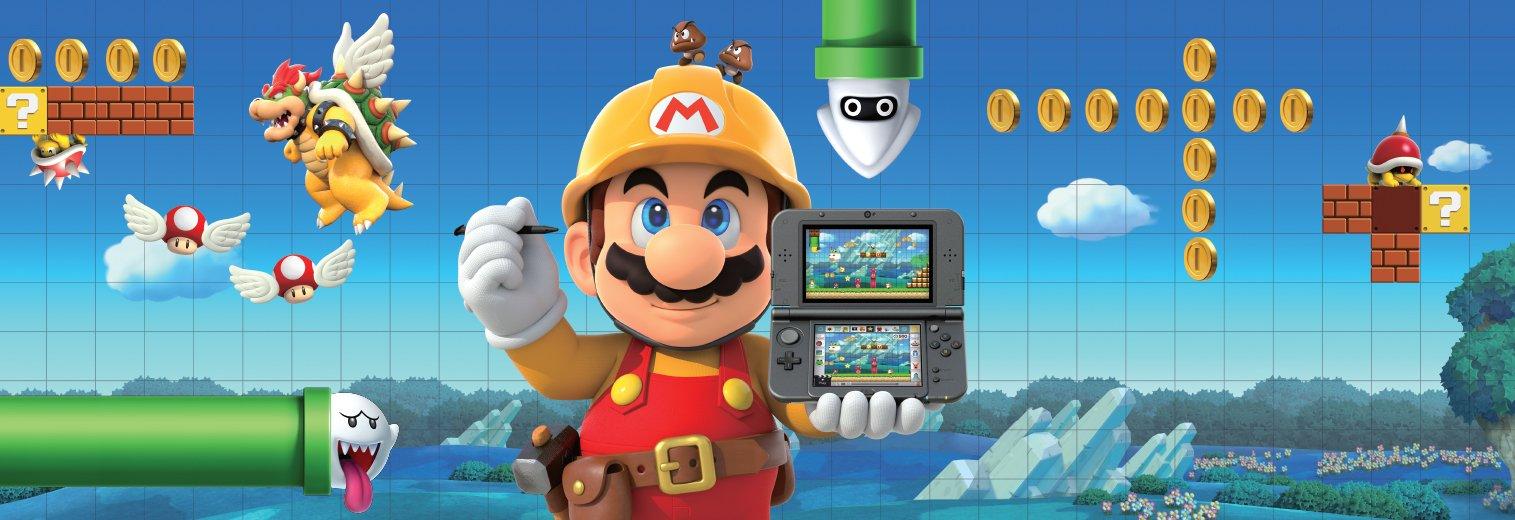 Amazon com: Super Mario Maker for Nintendo 3DS - Nintendo 3DS: Video
