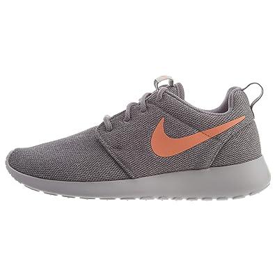 the best attitude 962b7 ede81 Nike Women s Roshe One Running Shoes (9.5 M US, Atmosphere Grey Orange Pulse