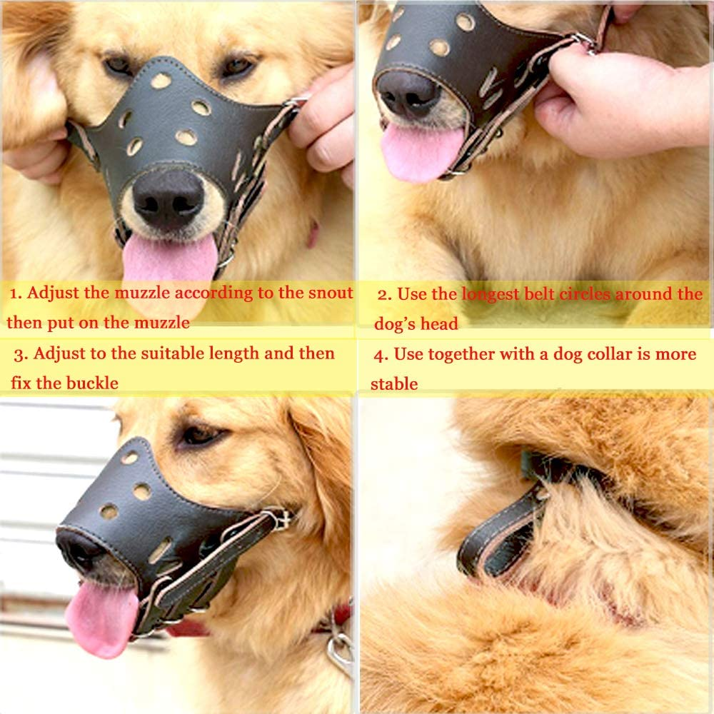 Charcoal Small Canine Friendly Soft Fit Dog Muzzle