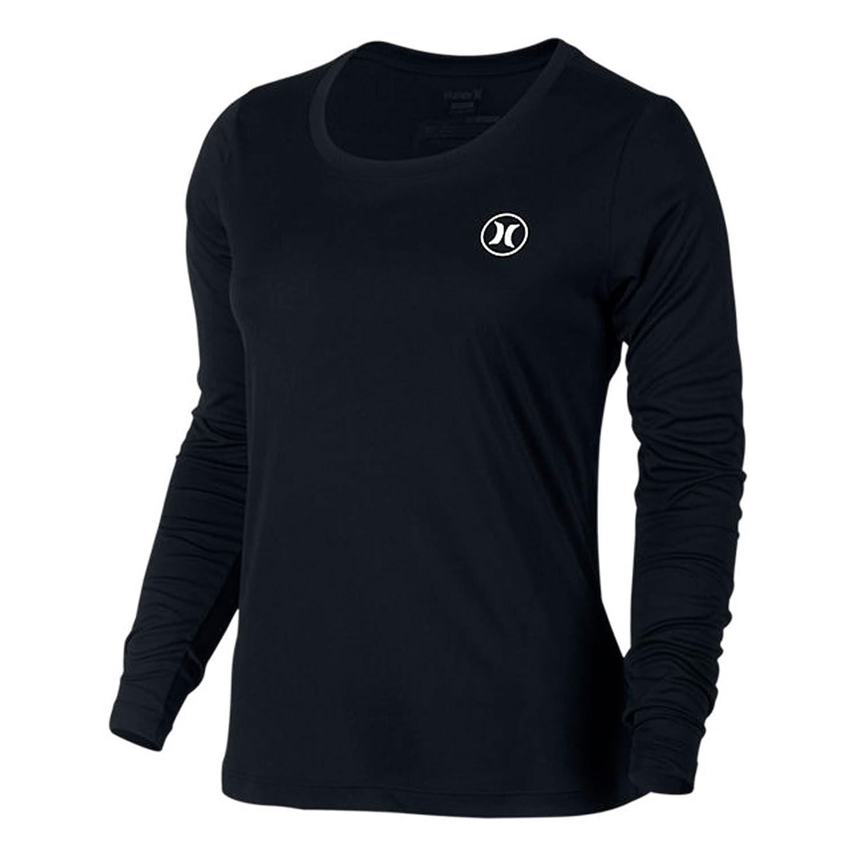 d27fa8b3 Amazon.com: Hurley Men's Dri Fit Icon L/S Surf Tee Black: Clothing