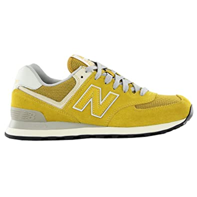 new balance 44 gialle