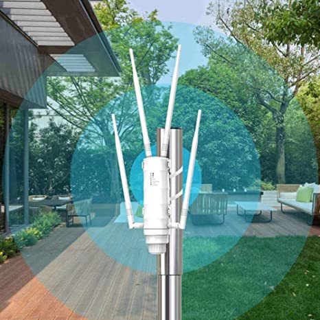 De Alta Potencia De Wi-Fi Al Aire Libre Ap/Repetidor/Router ...
