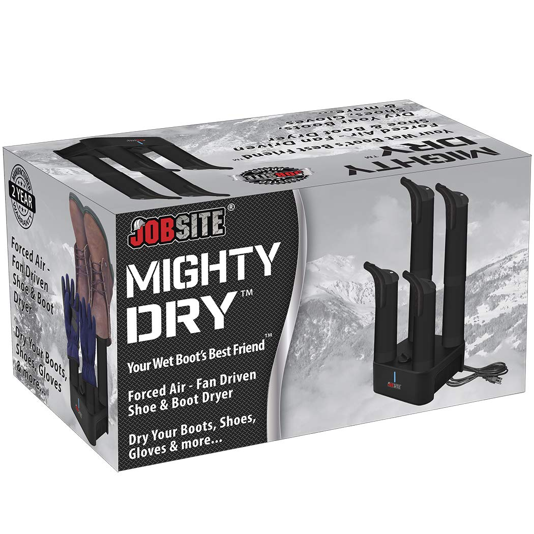 2c34f37fff1 Amazon.com  JobSite Mighty Dry Boot Dryer with Timer and Fan