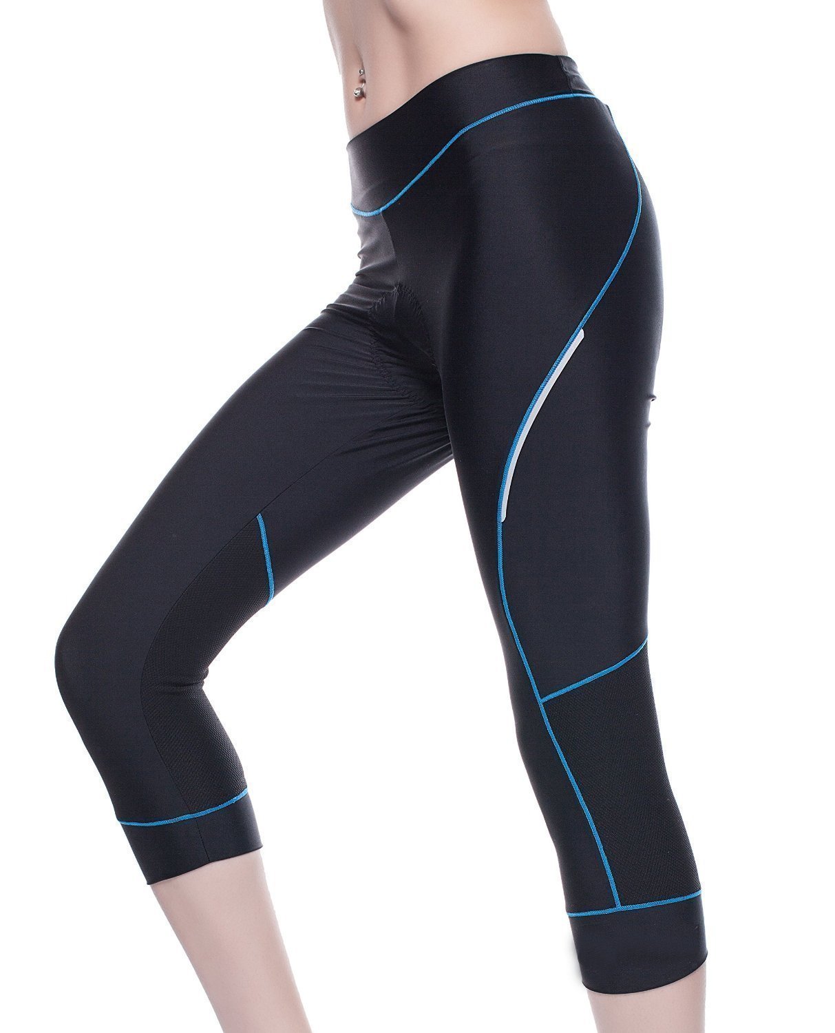 4ucycling Women Premium 3D Padded Breathable ? Cycling Tights