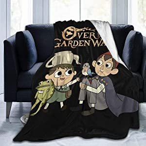 Adsfghrehr Over The Garden Wall Ultra Soft Microfleece Plush Blanket Super Cozy All Season Premium Bed Blanketsuitable for All Living Rooms Bedrooms