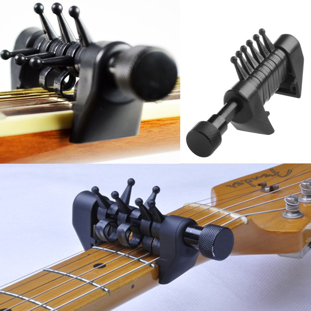 ULKEME Multifunction Capo Open Tuning Spider Chords For Acoustic Guitar Strings