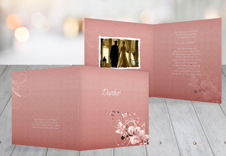 Kartenparadies Danksagung für Hochzeitsgeschenke Hochzeit Danke Liebeswunder, Liebeswunder, Liebeswunder, hochwertige Danksagungskarte Hochzeitsglückwünsche inklusive Umschläge   10 Karten - (Format  145x145 mm) Farbe  PastellHellRot B01NAVS3GI | Perfekt In Verar 75d300