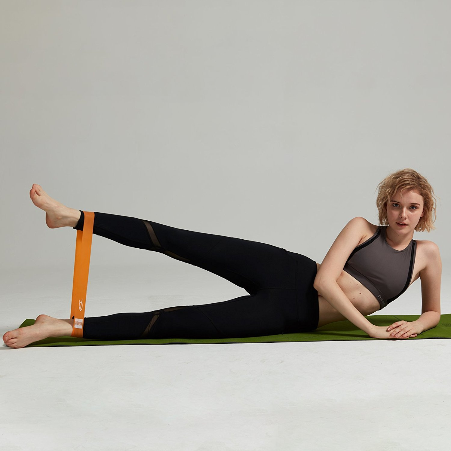 Exercise Loop Bands Tone Legs Wor Butt and Core CHICMODA Resistance Bands Set