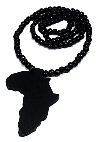 Africa necklace wooden rasta necklace africa unite jamaican africa necklace wooden rasta necklace quotafrica unitequot aloadofball Image collections