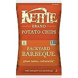 Kettle Brand Potato Chips, Backyard Barbeque, 8.5 Ounce Bag
