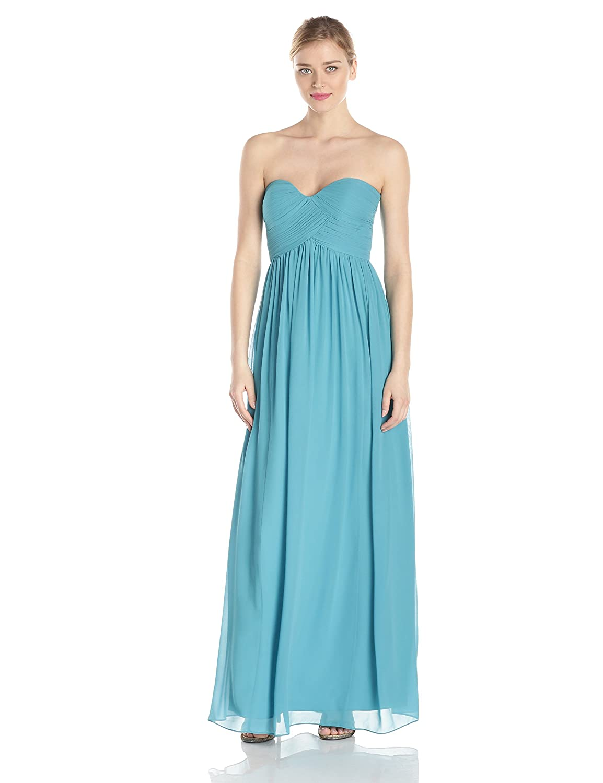 Amazon.com: Donna Morgan Women\'s Lauren Sweetheart Chiffon Gown ...