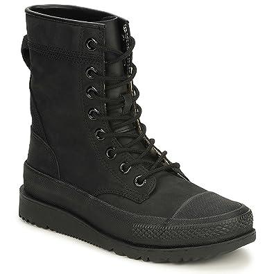 CONVERSE mens ALL STAR MAJOR MILLS BLACK Mid boots