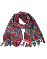 Women's Multi Colour Chunky Scarf, Perfect for Autumn / Winter - Available in 8 Colours