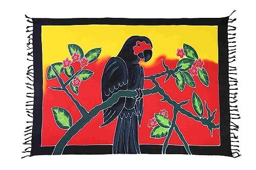 Ca 30 Modelle Sarong Pareo Wickelrock Standtücher Schals Handtuch aus der Serie Crazy Islands Riesen...