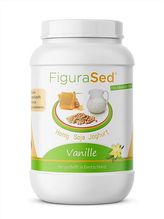 FiguraSed   miel – soja – yogur   vainilla – sustitución de la comida proteína   Shake 500 g   Desarrollado por médicos y expertos en nutrición de ...