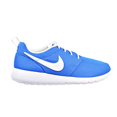 the latest 577b1 b9d06 Amazon.com | NIKE Roshe One Big Kid's Shoes Photo Blue/White ...