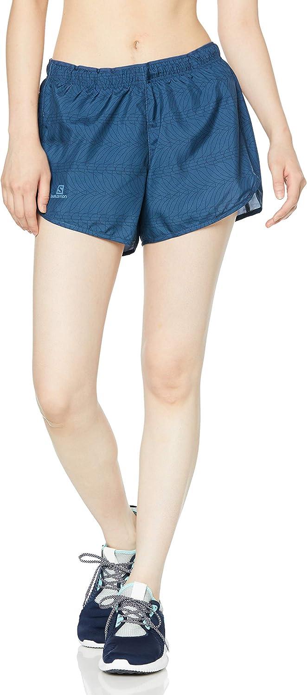 SALOMON Mujer Shorts para Running Poli/éster Agile Short W