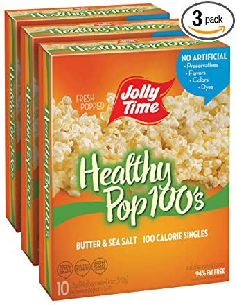 Jolly Time Healthy Pop - Mini bolsas de palomitas de maíz ...