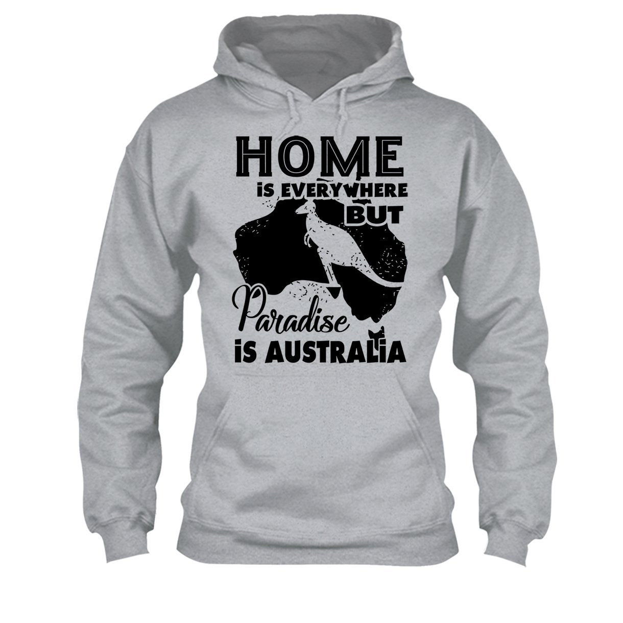 Big Grey Paradise is Australia Tee Shirt Cool Sweatshirt Hoodie