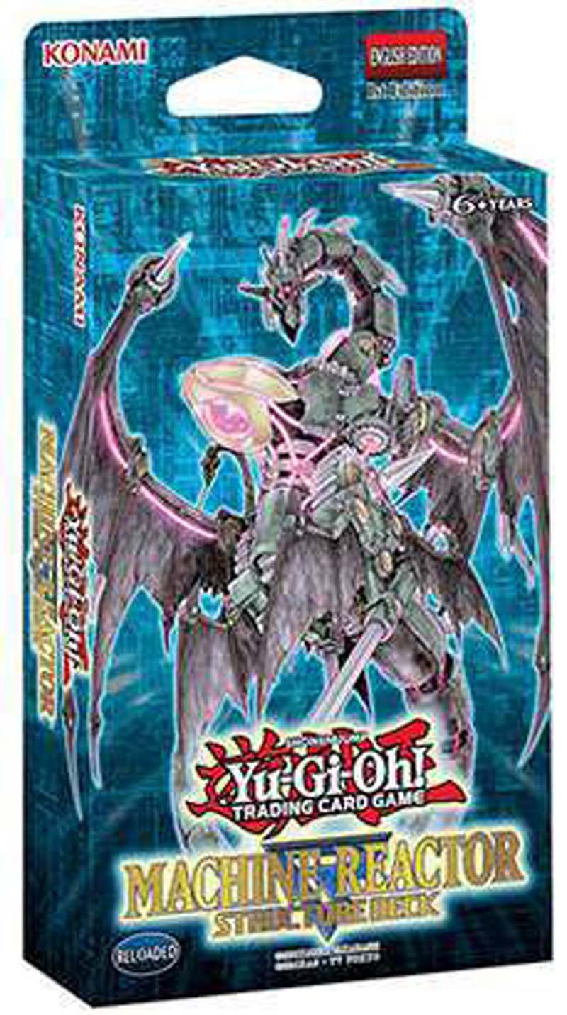 Yugioh MACHINE REACTOR 2017 English Structure Deck - 43 Cards by Yu-Gi-Oh!