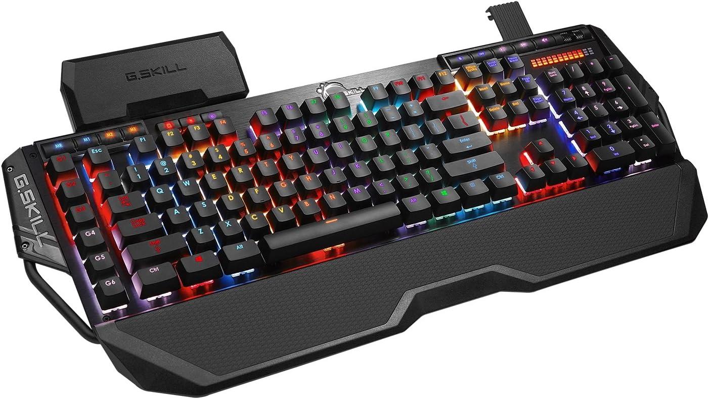 G.Skill Teclado para juegos mecánicos RGB KM780 Cherry MX Red ...