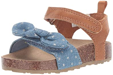 f61d7abcb6cee Carter's Girl's Welsie Chambray Sandal