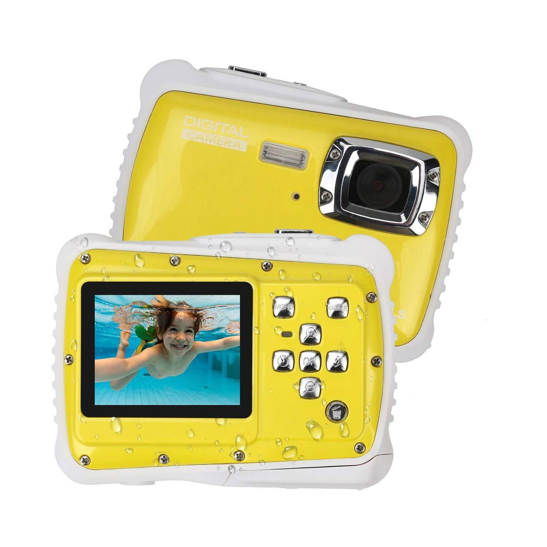 AIBAB 12 Millionen Pixel 2,0 Zoll Wasserdicht Digitalkamera Für Kinder Staubdichter Tropfschutz Tauchen