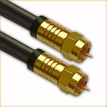 allvox – 3 M 135dB Cable de satélite HDTV Cobre 75 Ohm | Premium TV SAT