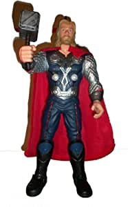 Marvel Avengers Comic Book Movie Thor Hammer Collector Action Figure Toy 15""