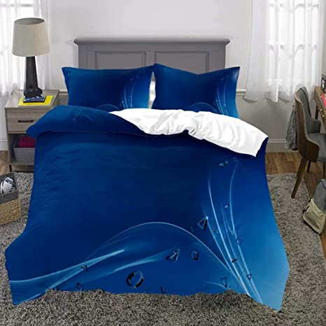 1 Duvet Cover with 2 Pillow Cases T7 Siyarar Playstation Duvet Cover Set for Teen Boys Twin Size Bedding Sets 2pcs