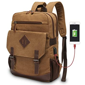 afa47133d32c Amazon.com  Vintage Backpack for Men