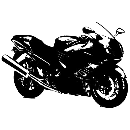 Amazon Com Motorcycle Bike Wall Decal Sticker 4 Decal Stickers