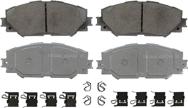Wagner ThermoQuiet QC1912 Ceramic Disc Brake Pad Set
