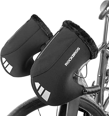Motorcycle Handle Bar Gloves Bicycle Hand Protection Mitts Warm Gloves Windproof